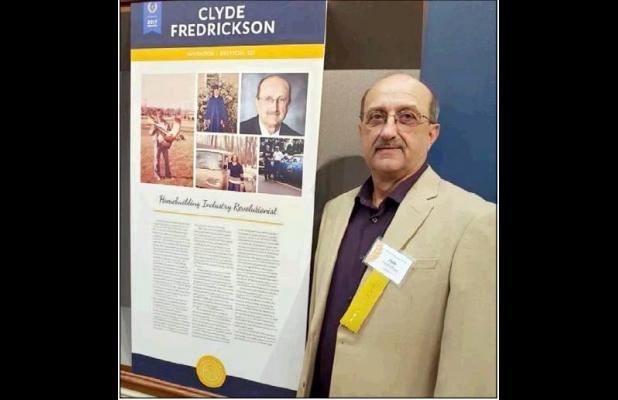 Fredrickson New Hall Of Famer